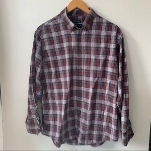 Men's Large plaid dress shirt Joseph & Feiss